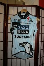 Saxo Bank Sungard Team Uci world Tour Best Team 2010 cycling Vest size S . ALY