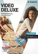 Magix Video Deluxe 2018 Box Windows