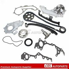 FOR TOYOTA TACOMA 2.4L TIMING CHAIN KIT w/ OIL WATER PUMP 2RZFE 95-2004