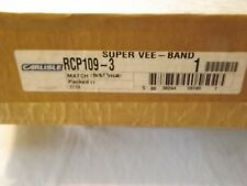 CARLISLE POWER TRANSMISSION PRODUCT SUPER VEE - BANDED BELT RCP109-3