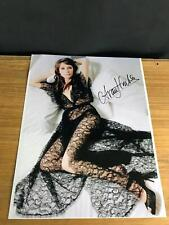 Carice Van Houten SIGNED 8X11 PHOTO CELEBRITY SLEUTH GAME OF THRONES MELISANDRE