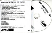 GRANDMASTER FLASH The Bridge 2008 UK numbered 19-track promo test CD Snoop Dogg
