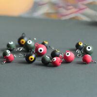 JigHead lest ball plomb poids pour leurres Soft Fishing 3colors SinkersTRFR