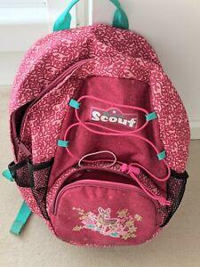 Scout Rucksack Kinder Mädchen Rosa für Schule & Freizeit