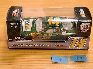 2007 #14 Sterling Marlin Waste Management Pit Stop 1/64 Action NASCAR Diecast