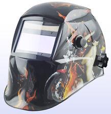 AUTO Oscuramento Solare Saldatori Casco di Saldatura Maschera con molatura H12 Biker Girl *