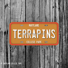 University of Maryland College Park Terrapins License Plate