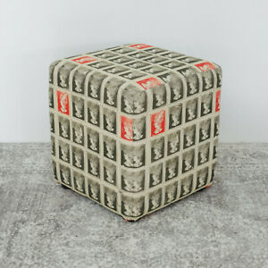 Postage Stamp Cube Stool - Ex Display