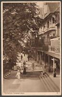 1937 Vintage The Pantiles, Tunbridge Wells, England Postcard