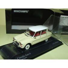 Citroen ami 6 1964 Jaune et toit Blanc Minichamps 1 43