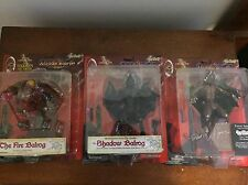 Toy Vault LORD Of The RINGS Balrog 3x Shadow , Fire , Forest BALROGS !! Frodo