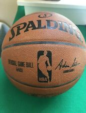 Spalding NBA Official Game Ball Leather Men's Basketball 29.5