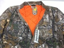 Carhartt  Wexford Camo Quilt Lined Shirt/Jacket MEDIUM [RM1B-1462] Ready to Ship