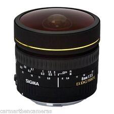 Sigma 8mm f3.5 Circular Fisheye EX DG For Canon