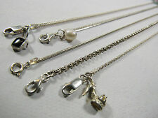 5 PC Lot 925 Solid Sterling Silver Charm Bracelets High Heel Shoe Pearl 19 Grams