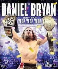 BLU RAY ~ WWE: Daniel Bryan - Just Say Yes Yes Yes (Blu-ray, 2015, 2-Disc Set)