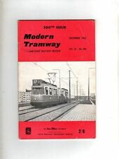 MODERN TRAMWAY & LIGHT RAILWAY REVIEW - UK VINTAGE MAGAZINE - DEC 1962