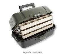 CORMORAN - Gerätekoffer 10003 - 44x24x20cm - 3-ladiger Angelkoffer/Gerätebox