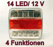 E4 LED Anhänger Rücklicht Rückleuchten  Licht Leuchte Anhängerbeleuchtung LED