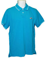 New Vintage NIKE NSW Polo Shirt Cotton Embroidered Sneaker Turquoise M