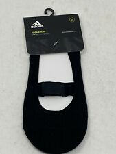 adidas Yoga Socks Women's M/L Black Exercise Gym Socks Rubber Grip Non-slip Base