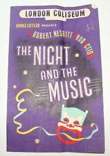 London Coliseum Emile Littler Robert Nesbitt Night And The Music Theater 1945