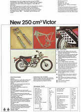 VINTAGE BSA VICTOR 250 TRAIL MOTORCYCLE AD POSTER 36x26 STYLE B