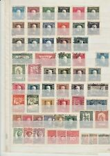 LOT SMALL COLLECTION BOSNIE HERZEGOVINA 1910 - 1930 : 57 X USED : START $ 1.00