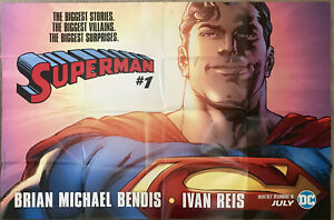 DC Superman Poster - Exclusive From DC Booth Comic-Con San Diego 2019 - NEW!