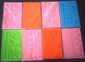 SILICON SUGAR CRAFT CAKE DECORATING MOULD ROSE BEADS FLOWERS BUTTERFLY
