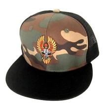 DOGTOWN BIGFOOT CAMO MESH SNAPBACK CAP BLACK NEW - SKATEBOARD SUICIDAL TRUCKER