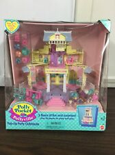 Vintage Polly Pocket Pollyville Pop-Up Party Clubhouse