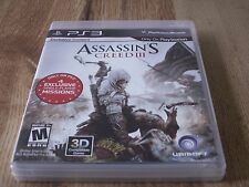 Assassin's Creed III (Sony PlayStation 3, 2012) Complete!!!!