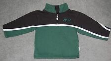 New York Jets 2T 1/4 Zip NFL Pullover Jacket - Official NFL Kids Team Apparel NY