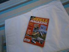 Revue RC Avion modélisme Modéle magazine plan encarté Azur 2 axes électrique