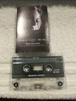 MARIAH CAREY My All + Breakdown Cassette Single KRAYZIE BONE & WISH THUGS