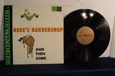 The Sindwinders, Here's Barbershop, Chord Records OBW 6212, 1963, Barbershop/Pop