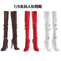 1:6 Scale Female High-heel Shoes boots Model Toys  For Phicen TBLeagure Figure