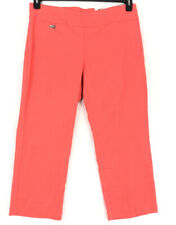 Alfani Plus size 14W capri pants coral pull on tummy control NEW
