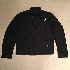 Ralph Lauren Black Label Speed Biker Lined Jacket - Black Size XXL RRP: £645.00