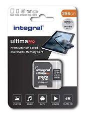 Integral 256GB Premium High Speed microSDXC V30 A1 Class 10 UHS-I U3 memory card