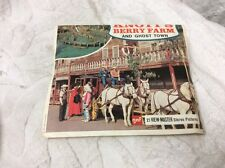 View-Master, Knotts Berry Farm And Ghost Town Packet No.  1  A235