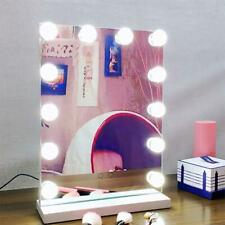 Hollywood Mirror Vanity LED Light Bulbs 12 Makeup Dress-up Selfie Portrait Live