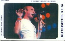 RARE / CARTE TELEPHONIQUE - GENESIS : PHIL COLLINS / PHONECARD LIMITED EDITION