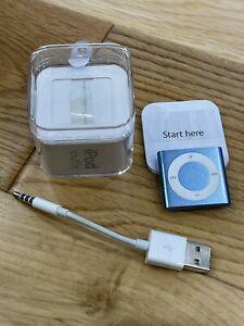 iPod Shuffle 4th Generation 2GB Blue. Boxed & Unique.