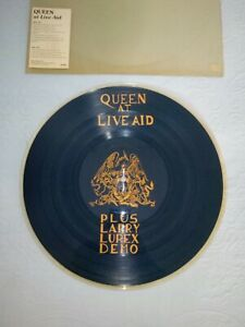 Lp vinile 33 giri Queen At Live Aid Plus Larry Lurex Demo Vinile VG molto raro