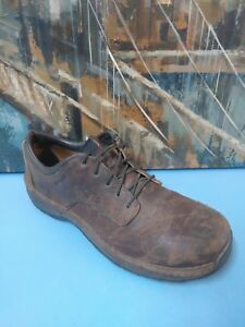 Red Wing 6704 Men 13 D Brown Leather Oxford Safety Shoe Steel Toe