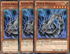 Cyber Dragon  X 10  Mint Random commons Revolution New