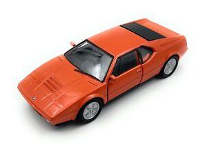 BMW M1 Sports Car Oldtimer Model Car Pick Up Car Licensed Product 1:3 4-1:3 9