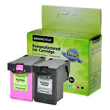 2PK 63XL Black & Color Ink Cartridge for HP OfficeJet 3831 3832 3833 3834 5258